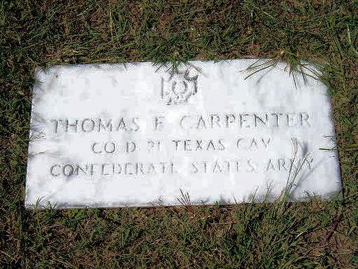 Pvt Thomas Fletcher Carpenter
