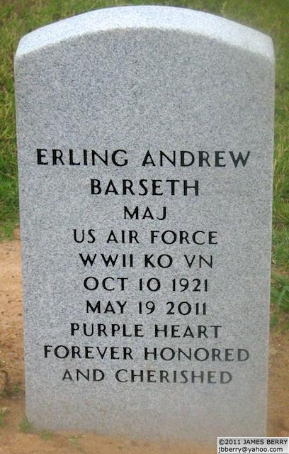 Maj Erling Andrew Barseth