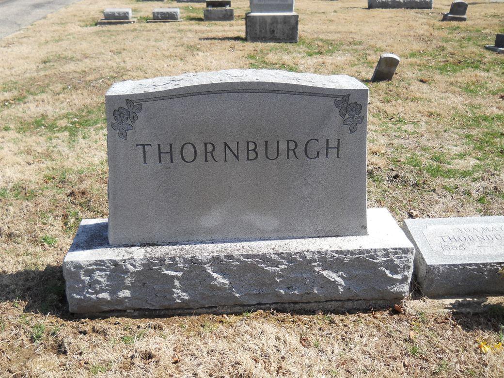 Mary Ann <i>Locke</i> Thornburgh