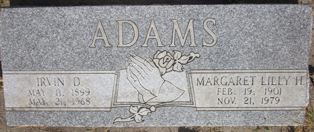 Margaret Lilly H. Adams