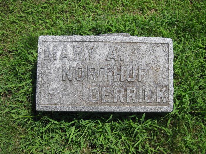 Mary A <i>Northup</i> Derrick