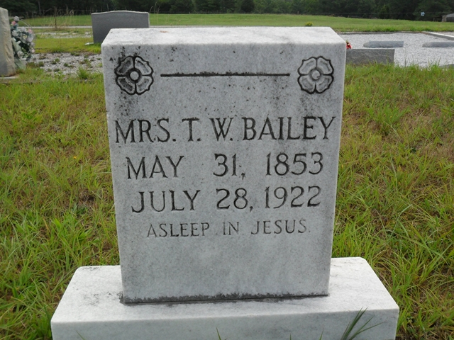 Willie Jane Janie <i>Brooks</i> Bailey