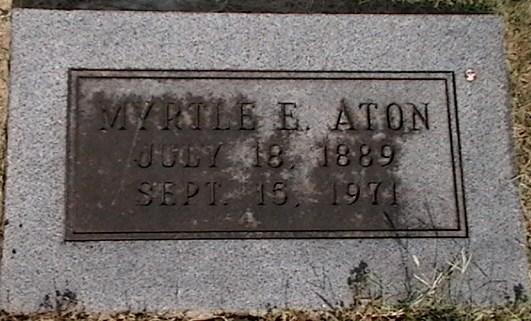 Myrtle E. Aton