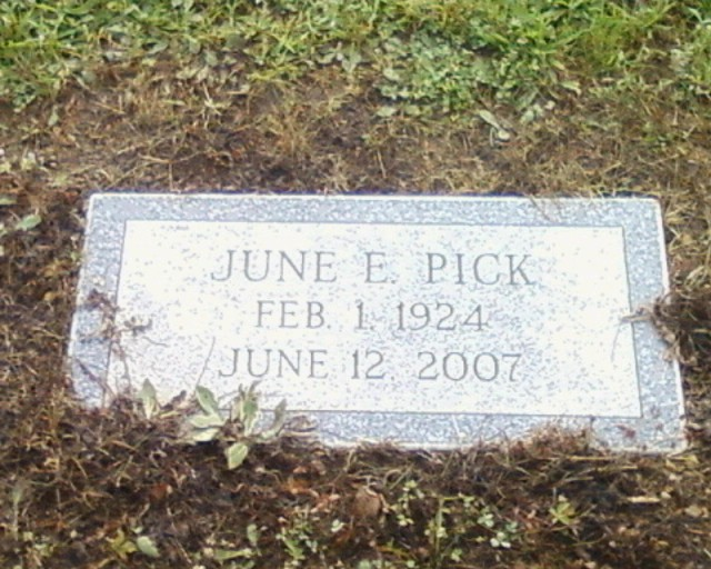 June E. Pick
