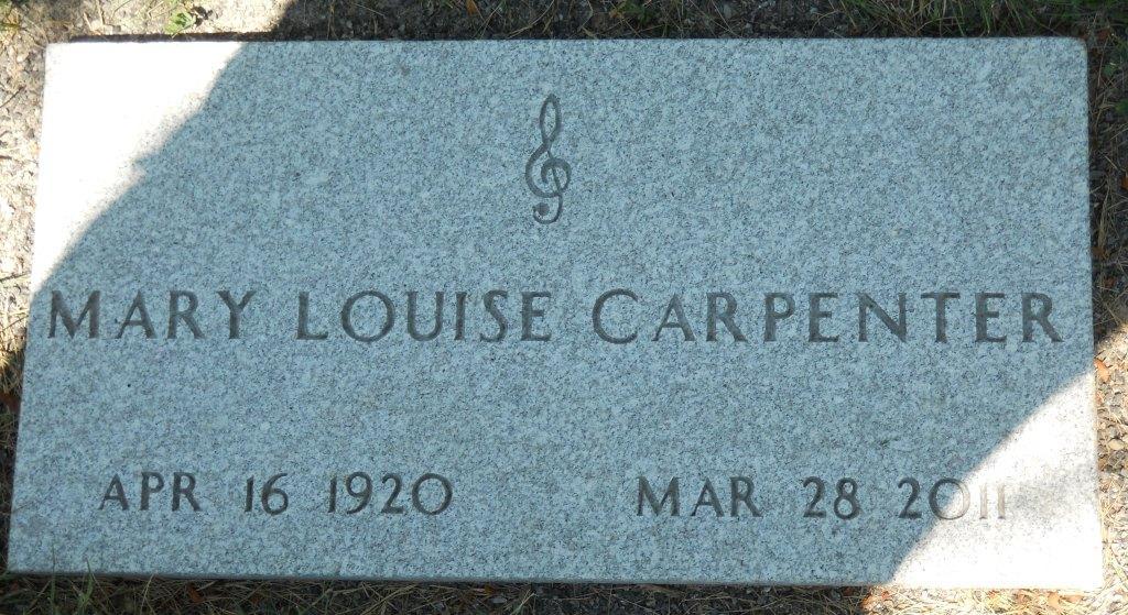 Mary Louise Marylou <i>Hills</i> Carpenter