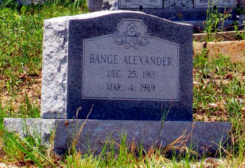 Bange Alexander