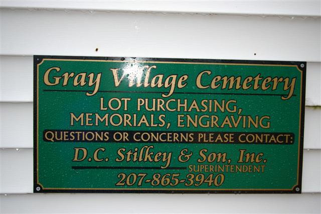 Gray Village Cemetery