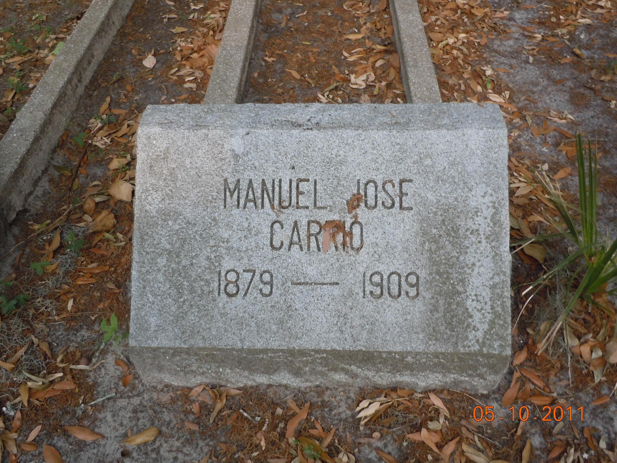 Manuel Jose Carrio