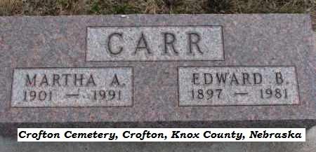 Edward B Carr