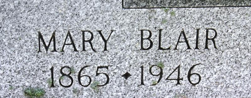 Mary <i>Blair</i> Allen