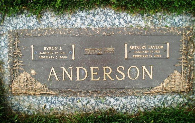 Shirley <i>Taylor</i> Anderson