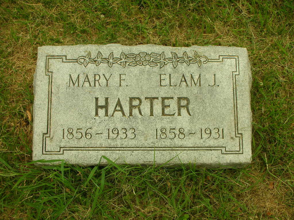 Mary Frances <i>Biggs</i> Harter