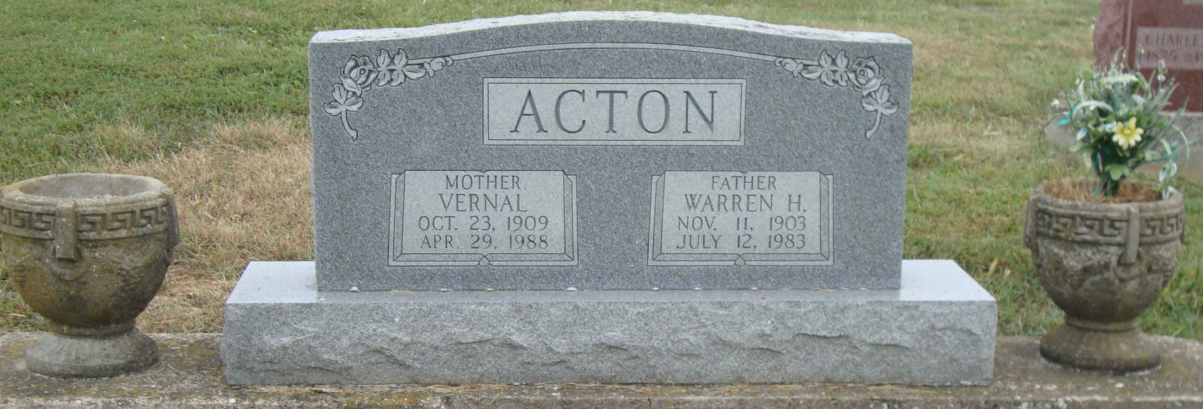 Vernal <i>Barnett</i> Acton