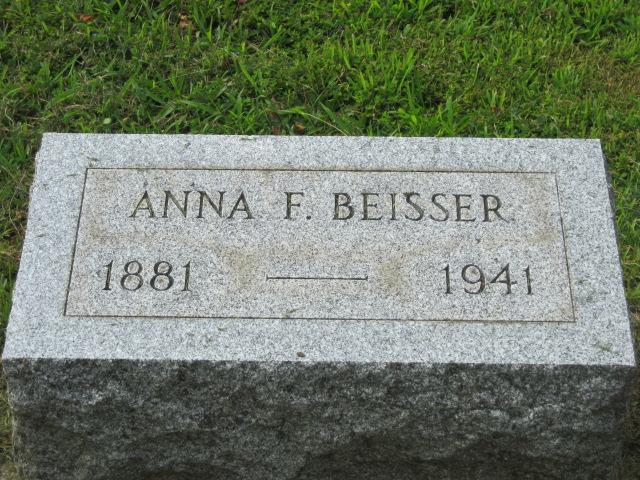 Anna F. <i>Cobel</i> Beisser