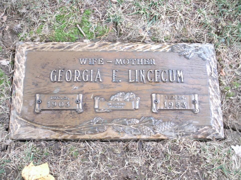Georgia Ellen Trigg <i>Hector</i> Lincecum