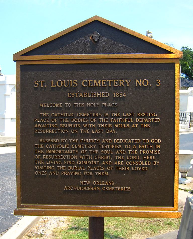 Saint Louis Cemetery Number 3