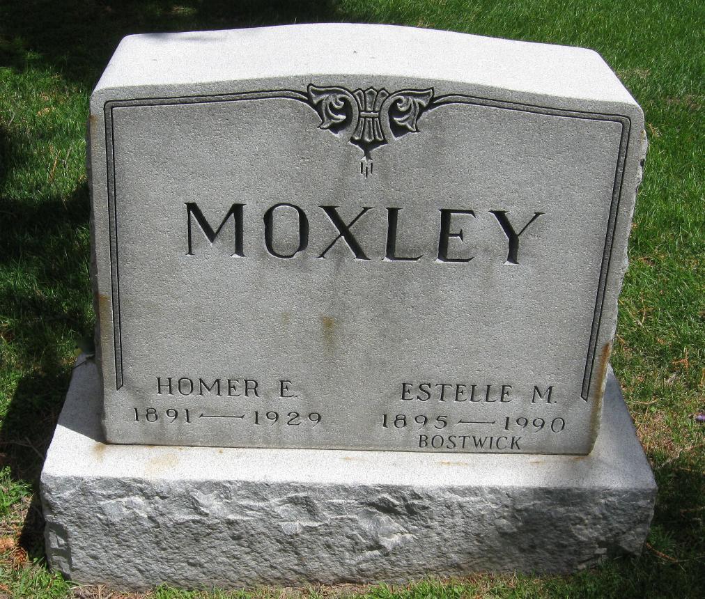 Estelle Mary <i>McBirnie</i> Moxley Bostwick