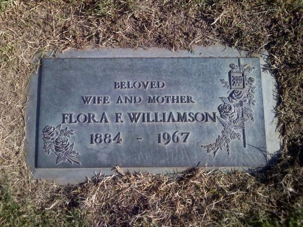 Flora Faye <i>Paddock</i> Williamson