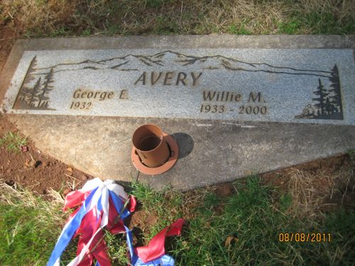 Willie Maude Billie <i>Pettigrew</i> Avery