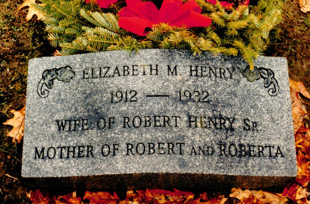 Elizabeth Marilla Betty <i>Smith</i> Henry