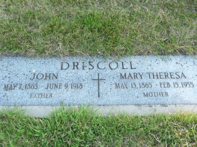 Mary Theresa <i>Robinson</i> Driscoll