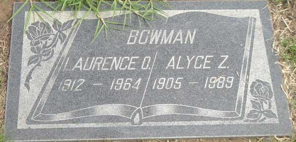 Alyce Z. Bowman