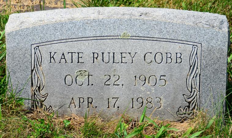 Kate Lee Ruley <i>Mutispaugh</i> Cobb