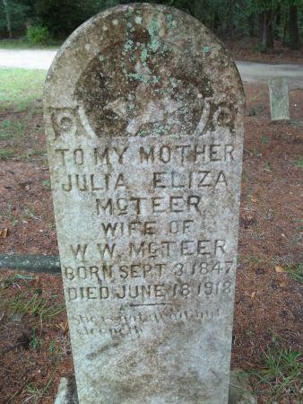 Julia Elizabeth <i>Peeples</i> McTeer