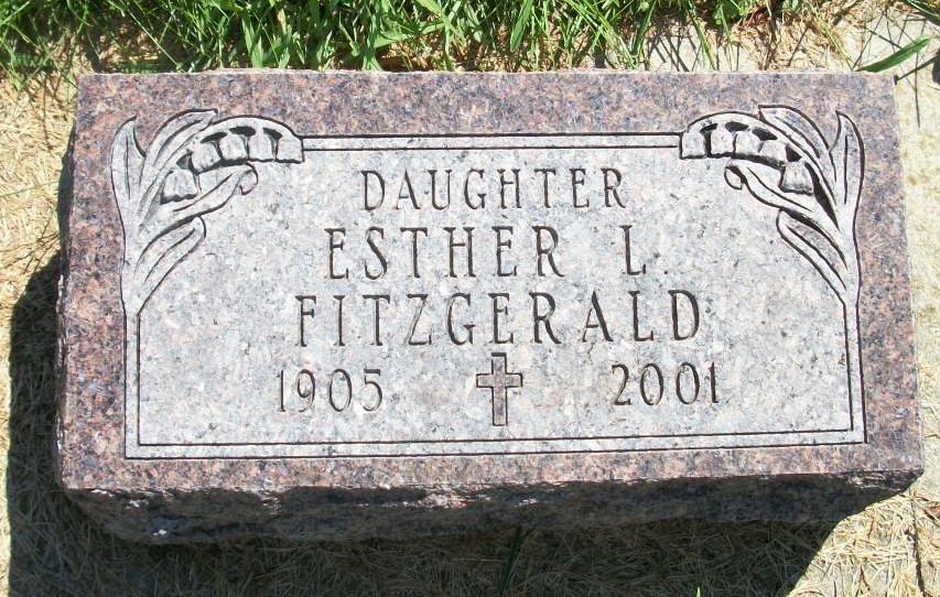 Esther Leone Fitzgerald