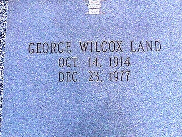 George Wilcox Land