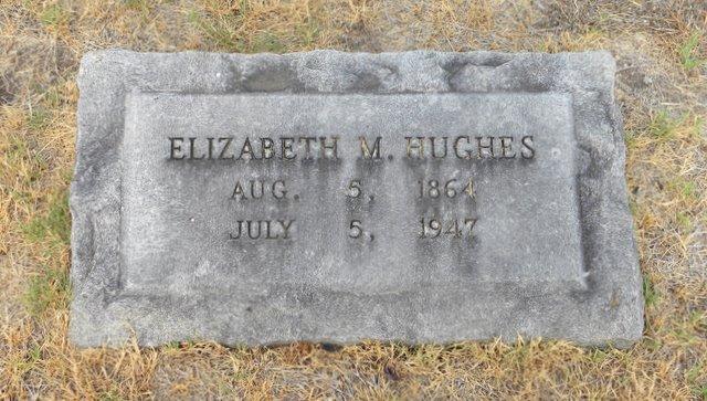 Elizabeth <i>Moore</i> Hughes