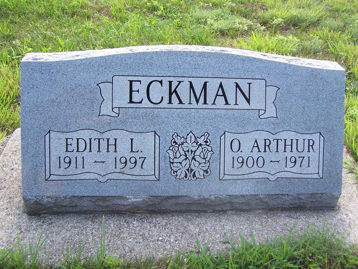 Edith L. <i>Wilson</i> Eckman
