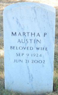 Martha P <i>Phillips</i> Austin