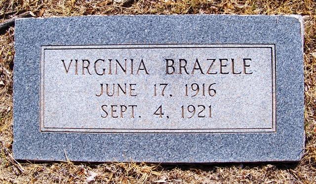 Shirley Virginia Brazele