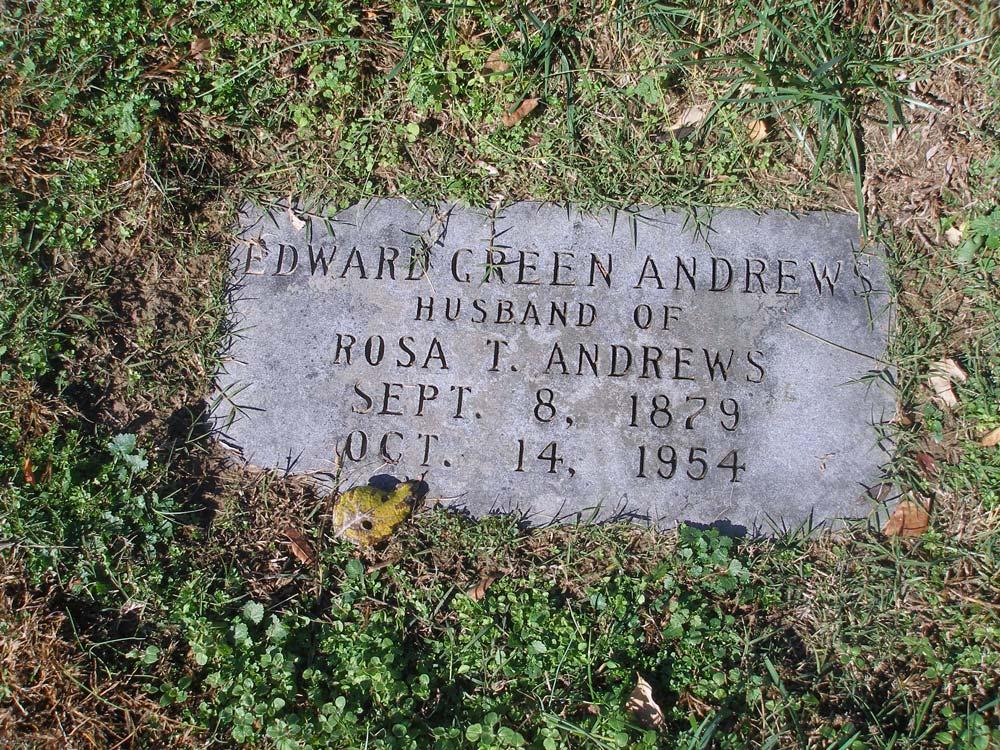 Edward Green Andrews