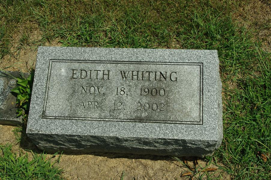 Edith Whiting