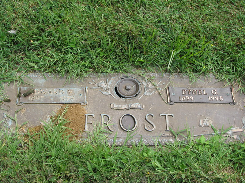 Edward V Frost