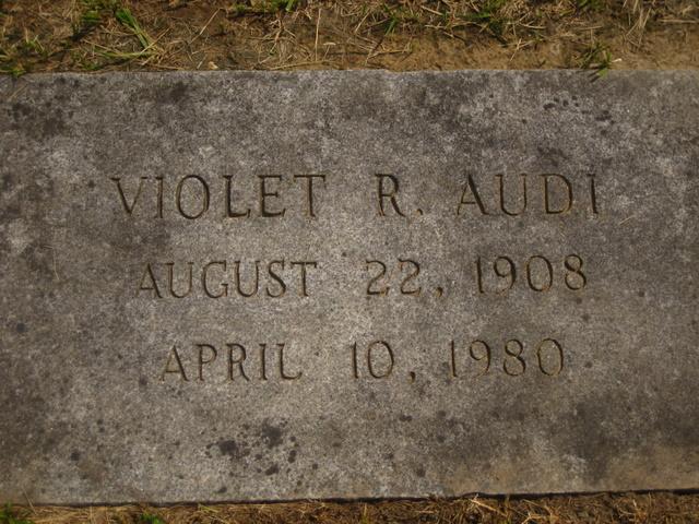Violet <i>Raymond</i> Audi