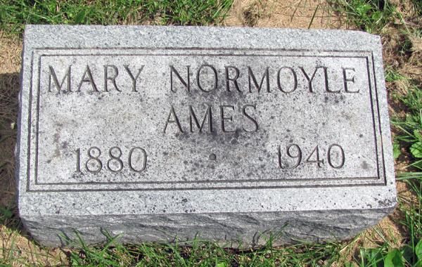 Mary <i>Normoyle</i> Ames