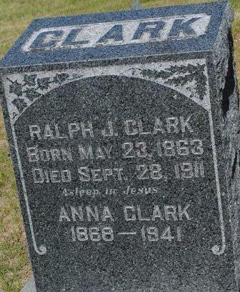 Joanna J. Anna <i>Dickinson</i> Clark