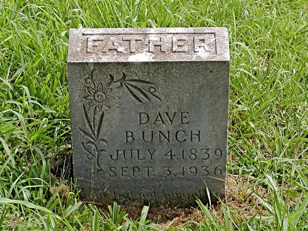 David Washington Dave Bunch
