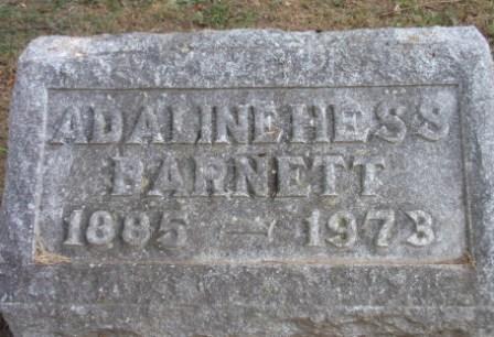 Adeline <i>Hess</i> Barnett