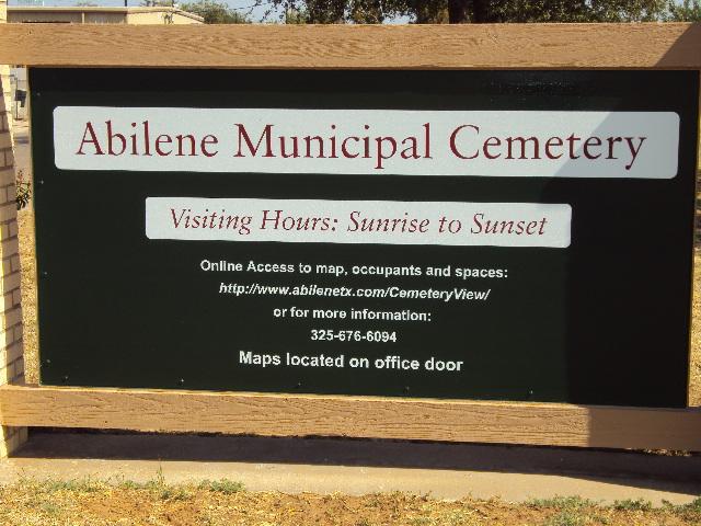 Abilene Municipal Cemetery