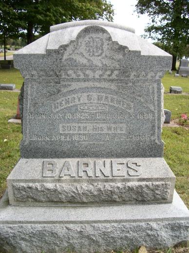 Susan <i>Warner</i> Barnes