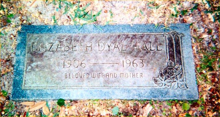 Elizabeth <i>Dyal</i> Hall