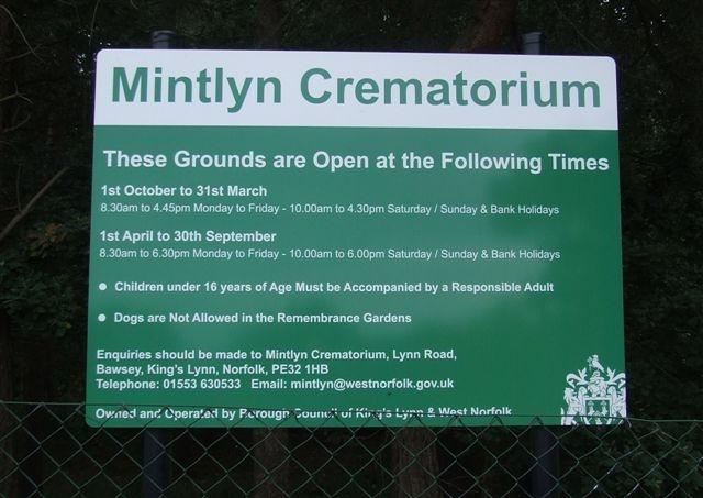 Mintlyn Crematorium