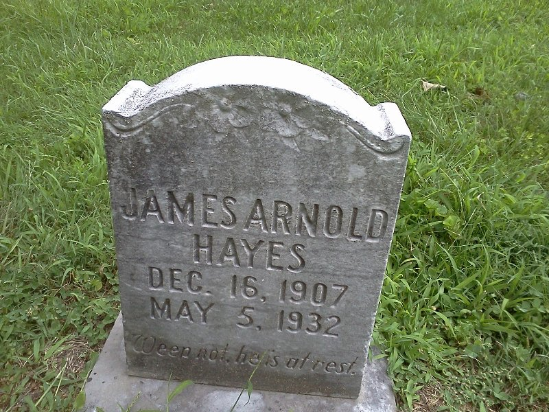 James Arnold Hayes
