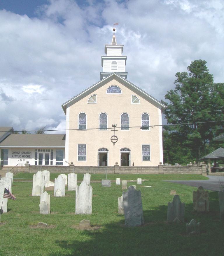 Christ Church Little Moore Cemetery