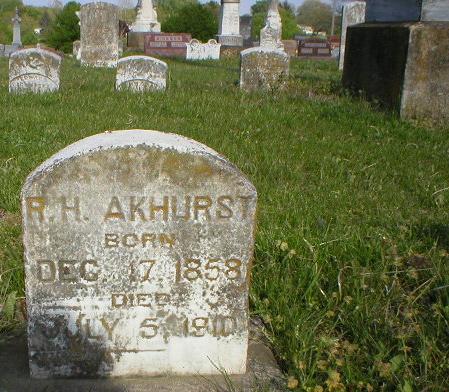 Robert Henry Akhurst
