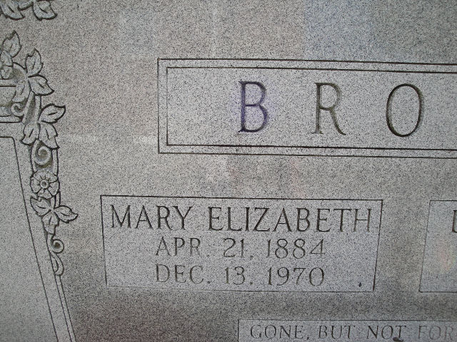 Mary Elizabeth <i>Delaney</i> Brown